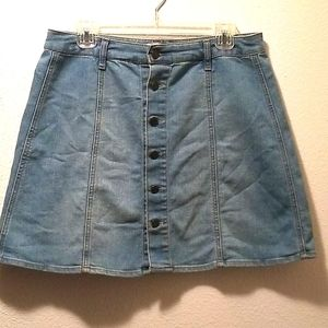 MOSSIMO SUPPLY CO. JEAN SKIRT